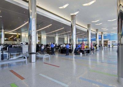 Boston Logan International Airport, Terminal C Expansion / Check Point Consolidation