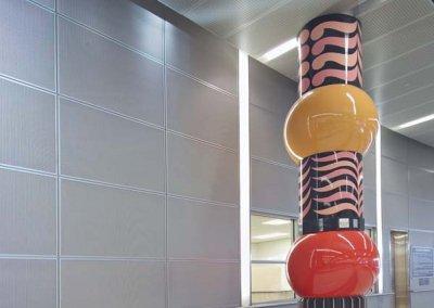 George Bush Intercontinental Airport, FIS - ATM, Terminal D & E