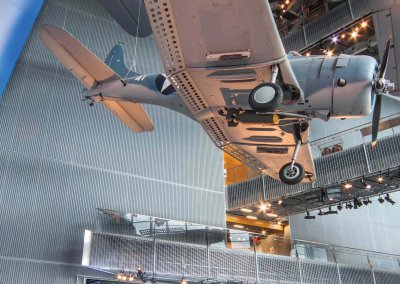 The National WWII Museum, U.S. Freedom Pavilion: The Boeing Center