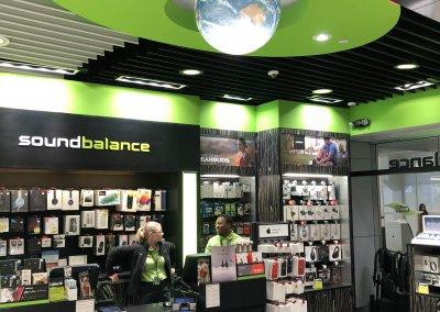 Sound Balance, DFW Airport