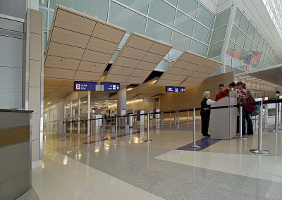 Dallas Fort Worth International Airport, Terminal D - Baggage Claim, Concourse, Ticketing
