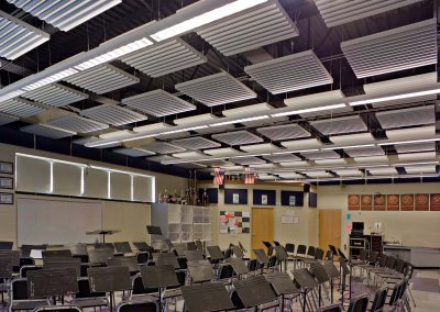 Lancaster High School Band Room