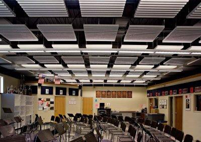 Lancaster High School Band Room