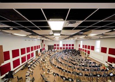 Mississippi State University, Band Room