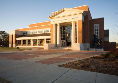 Ole Miss - University of Mississippi - Performing Arts Center & Student Union