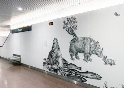 Plantin Metro Station